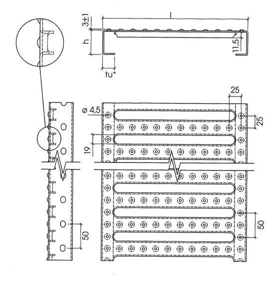 Illustration de PLANCHER METALLIQUE Stepplus