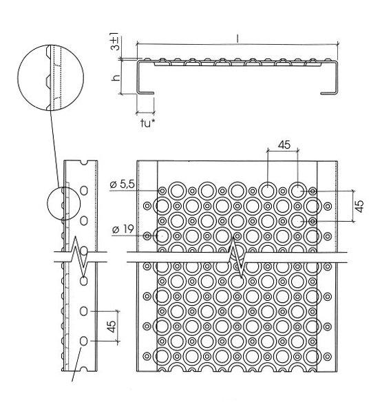 Illustration de PLANCHER METALLIQUE Stepclair